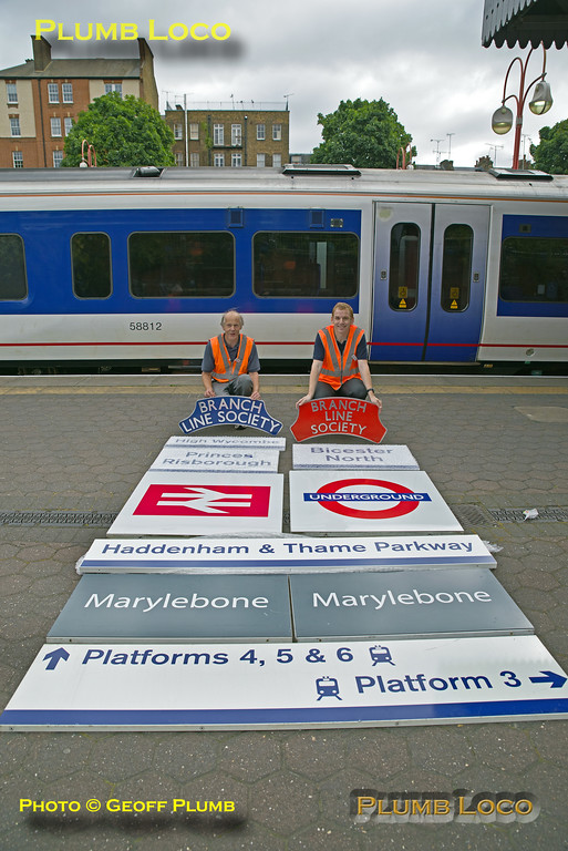 """BLS """"Wycombe Wanderer"""", Auction Signs, Marylebone, 13th August 2016"""