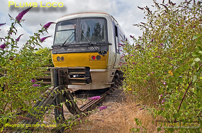 165 029, Wycombe Wanderer, Wycombe Engineers' Siding, 13th August 2016