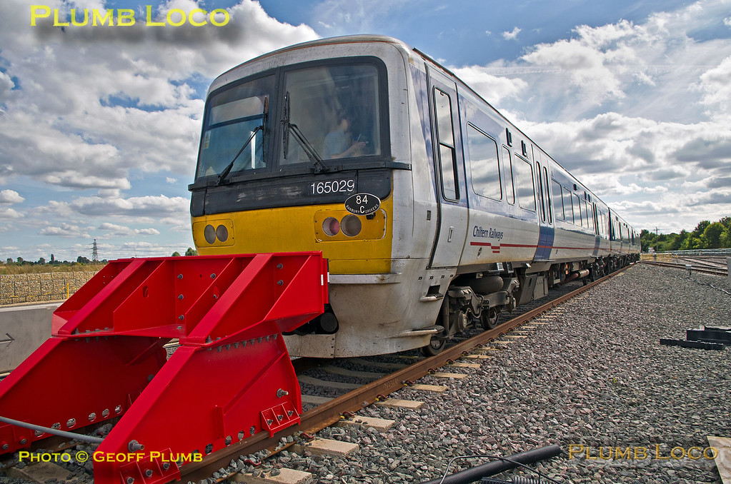 165 029, Wycombe Wanderer, Banbury Road Cripple Siding, 13th August 2016