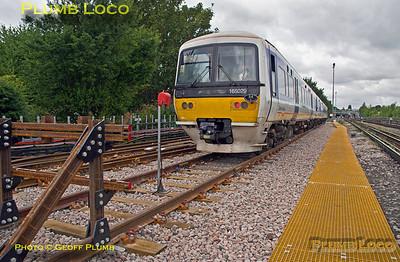 165 029, Wycombe Wanderer, West Ruislip, NR link line, 13th August 2016