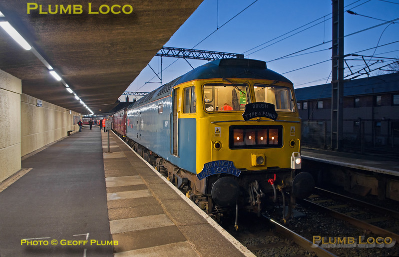 """47270, BLS """"YTGC"""", Carnforth Platform 2, 1Z27, 22nd April 2017"""