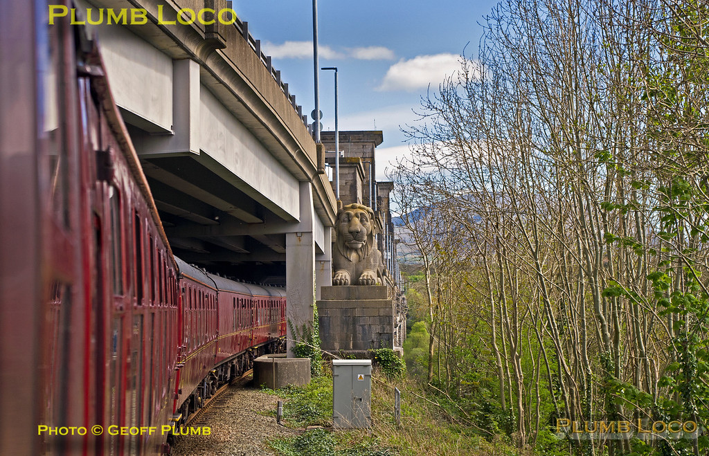 "PoV 1Z28, ""YTGC"", Pont Britannia, 22nd April 2017"