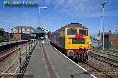 47580, Holyhead Platform 3, 1Z27, 22nd April 2017