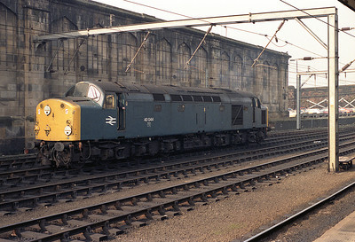 40044 is stabled at Carlisle 18/2/84.