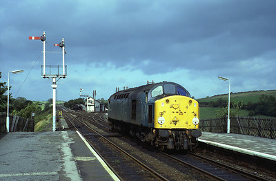 40022 stands at Appleby 19/9/83.