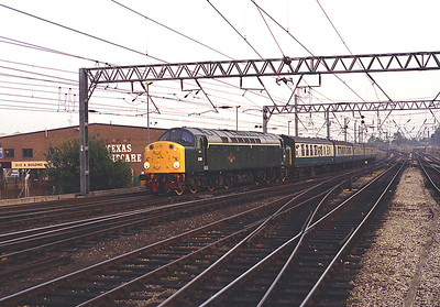 40122 arrives Carlisle with the 16.00 from Leeds 20/8/83.