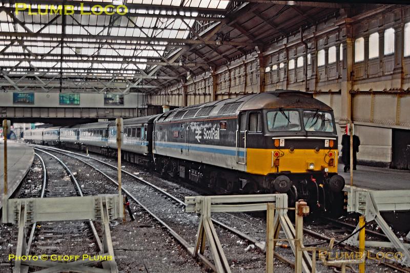 """47715 """"Haymarket"""", Edinburgh Waverley, 27th July 1989"""
