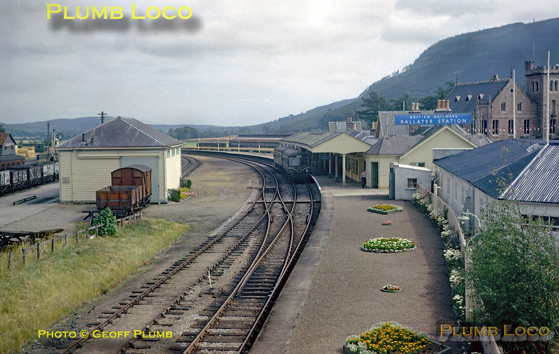 DMU at Ballater Station, August 1964