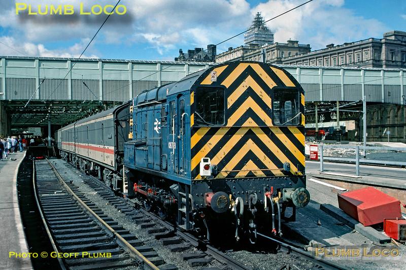 08718, Edinburgh Waverley, 27th July 1989