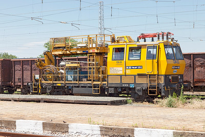 Overhead Line Maintenance vehicle CM-03. Karnobat, Tuesday 5th July 2016.