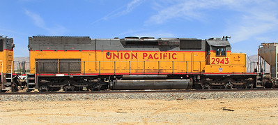 UP 2943 (SD40T-2) Ex SP 8285. Mojave 29/04/2007.