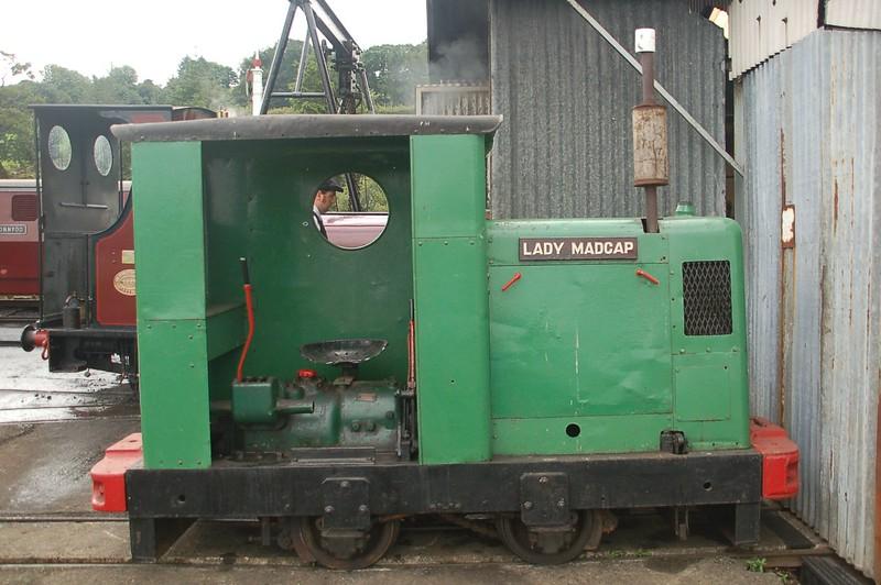 RH 283512 Lady Madcap - Bala Lake Railway - 28 August 2016