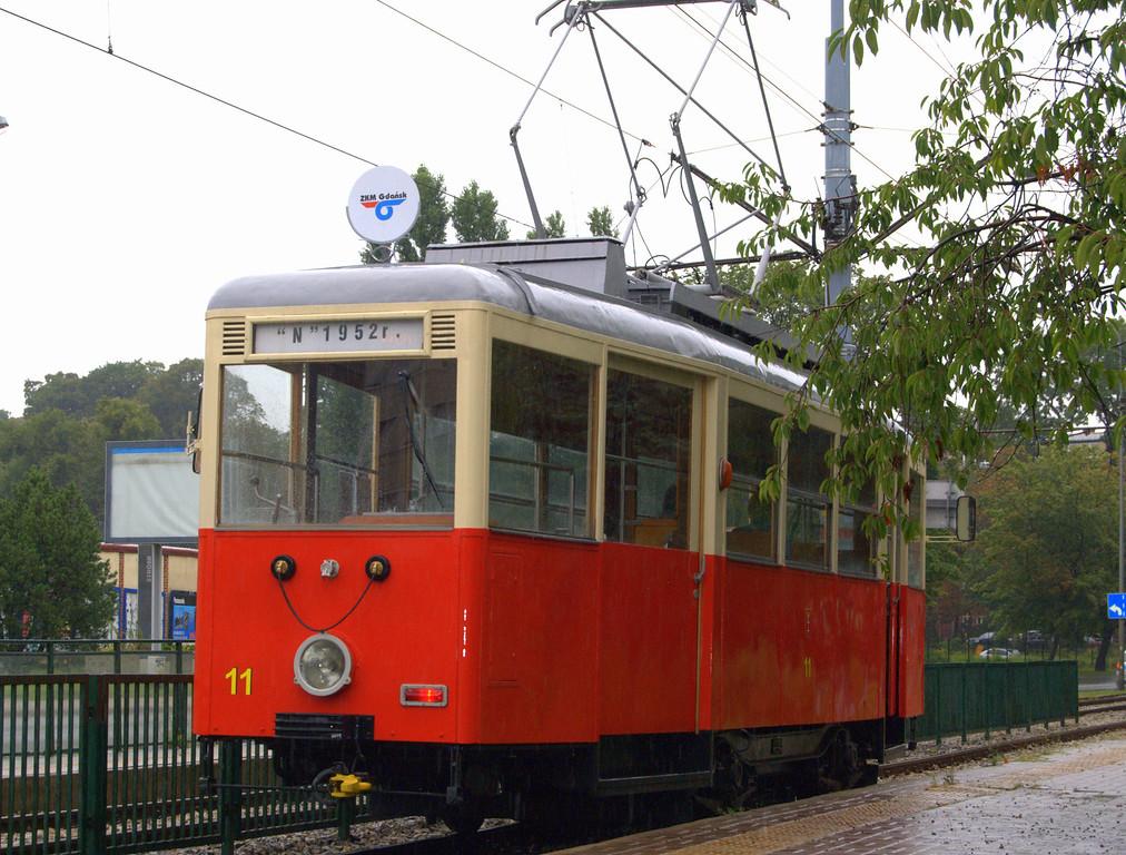 1952 Gdansk tram