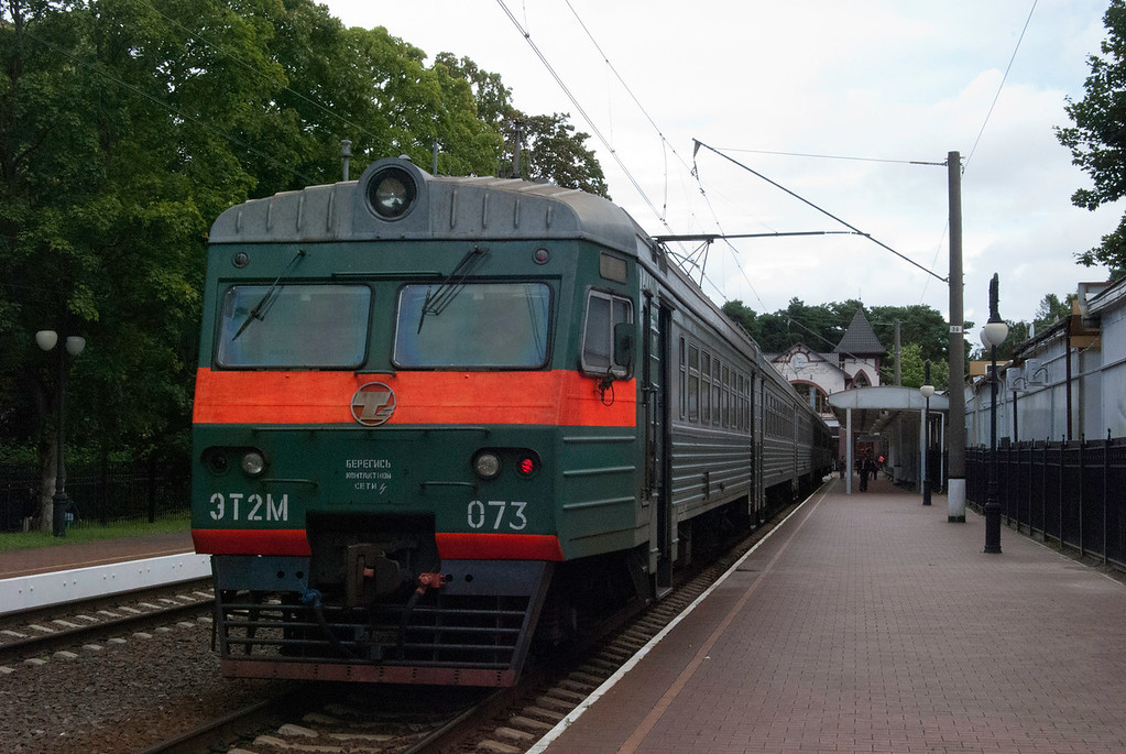 RZD unit at Svetlogorsk