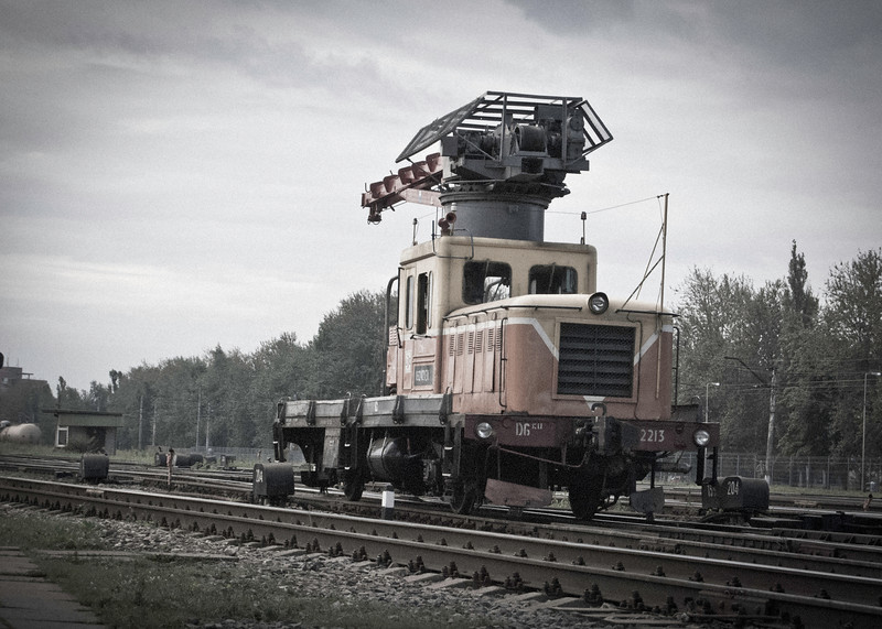 Strange departmental contraption at Daugmale