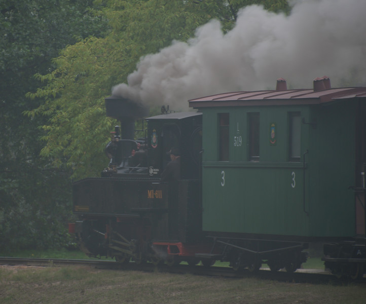 """In the park there is a Latvian narrow gauge museum line - which looks like it has had a lot of money lavished on it and consists of a circle and a 'mountain line' branch. <br /> <br /> <a href=""""http://muzejs.ventspils.lv/en/seaside-open-air-museum/narrow-gauge-railway/"""">http://muzejs.ventspils.lv/en/seaside-open-air-museum/narrow-gauge-railway/</a>"""
