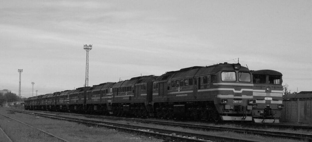 Loco line up at Daugmale