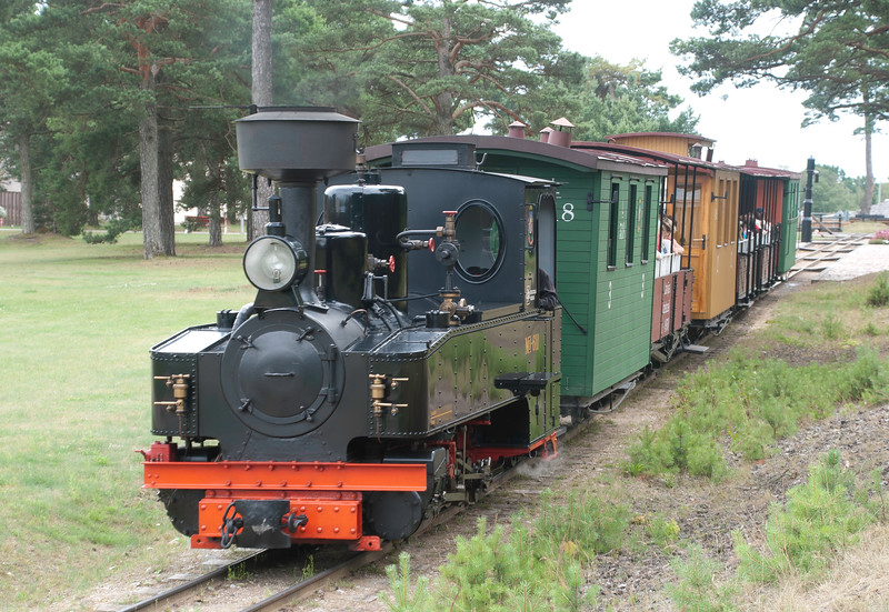 It's a quality job - from the world war one German military loco through to the carriages.