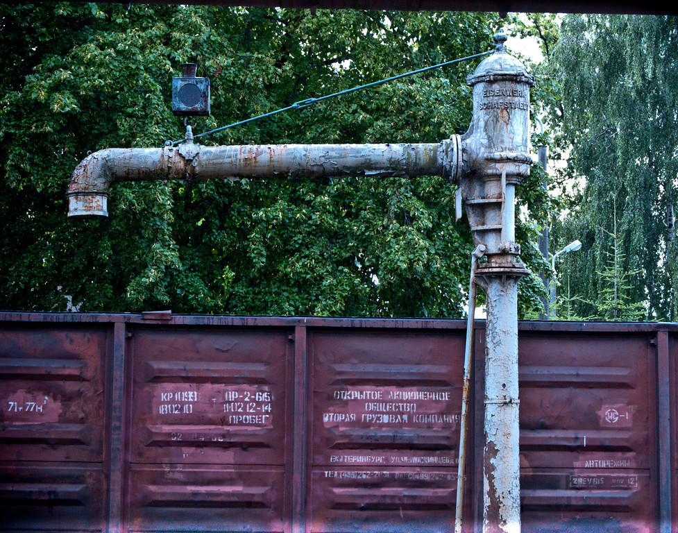 Braniewo station water crane