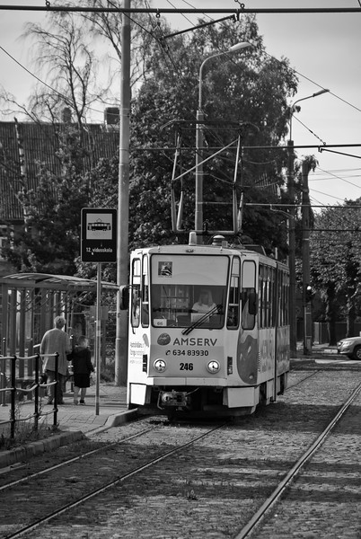The city had the first electric tramline in the Baltics - so its good it is keeping the faith<br /> <br /> 2nd August 2017