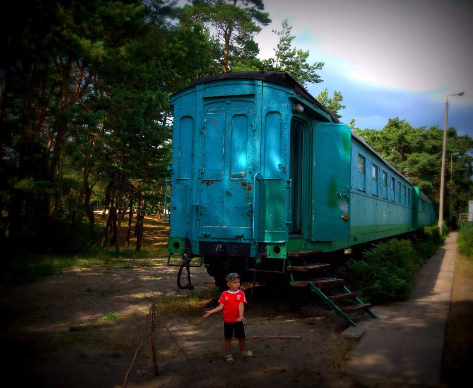 Camping coach at Hel