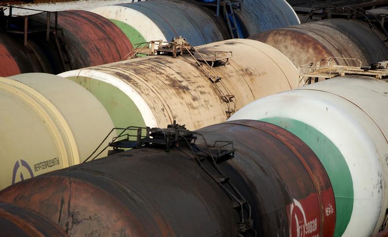 Oil tanks at Narva