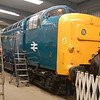 55019 Royal Highland Fusilier - Barrow Hill - 9 February 2014