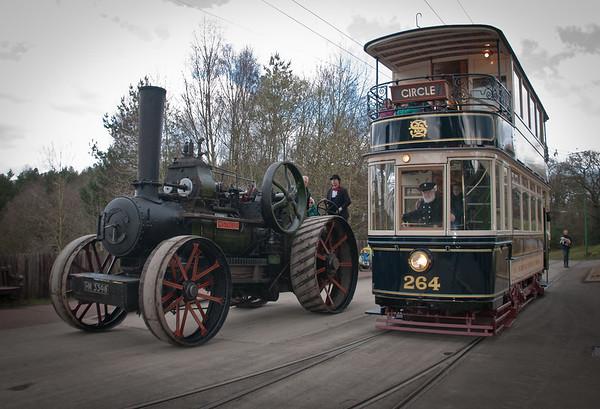 Beamish World War One steam fair