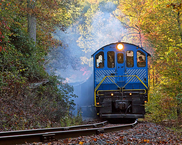Alco exhaust in the Fall