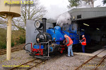 There are still some parts to be given a polish before the loco is ready to go off shed, but not long now. 11:09, Friday 2nd April 2010. Digital Image No. GMPI4854.