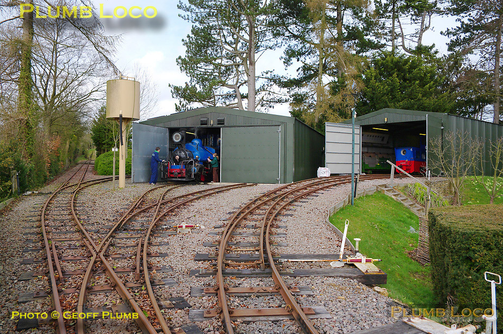 General view of the loco shed and servicing area. Digital Image No. GMPI4827.