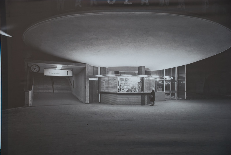 Near our accommodation was an open air exhibition of photographs of a rapidly rebuilding Warsaw in the 50s and 60s by Zybszko Siemaszko. Here is the first supermarket. Unfortunately now knocked down. This is now a cafe apparently but didn't have time to visit it