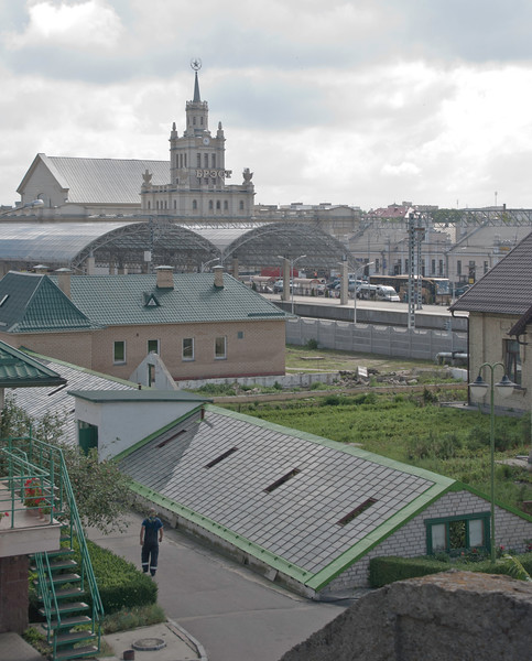Brest station - in the foreground could be a railway nursery.