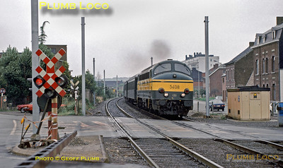 SNCB  No. 5408, Jambes, 24th August 1985
