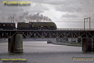 SNCB  No. 12.004, Namur Bridge, 24th August 1985