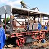 178 WD Non Vent Van Plank 'Ammunition Van' - Bere Ferrers Station 07.06.13  Mick Cottama