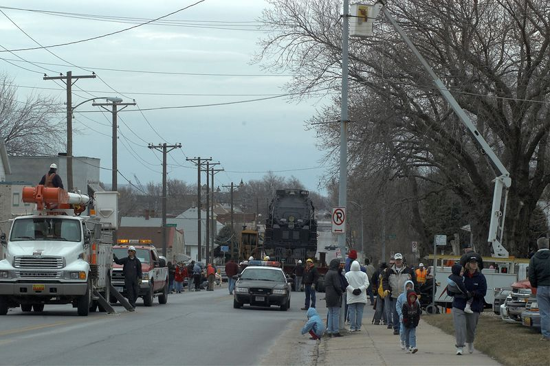 <font size=3>Another view down 10th street. </font>