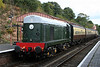 D8059 at Bewdley with the 14:02 from Kidderminster 04/10/12.