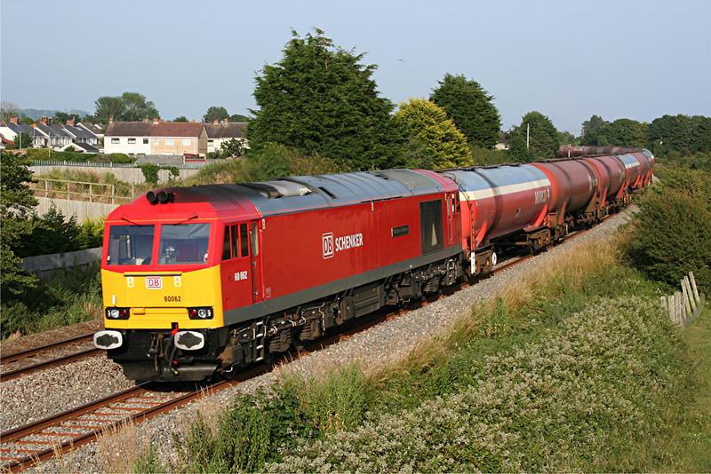 60062 6B07 Margam to Robeston at Pembrey 15/07/13.
