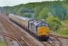 37667 & 37606 1Z39 Carmarthen to Bristol Parkway at Llandeilo Junction 16/5/15.