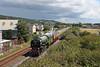 60163 Tornado 1Z60 Eastleigh to Carmarthen at Pembrey and Burry Port 5/8/17.