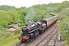 43106 14:25 Kidderminster to Bridgnorth at Highley 18/5/16.