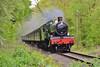 7802 12:30 Kidderminster to Bridgnorth near Highley 18/5/16.