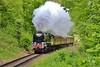 34027 13:05 Bridgnorth to Kidderminster near Highley 18/5/16.