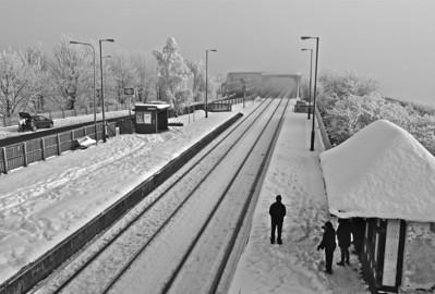Althorpe-waiting for a train
