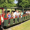 Four Bogie Third 4 Comps (172-175) - Blenheim Park Railway 27.06.15  Andrew Murray