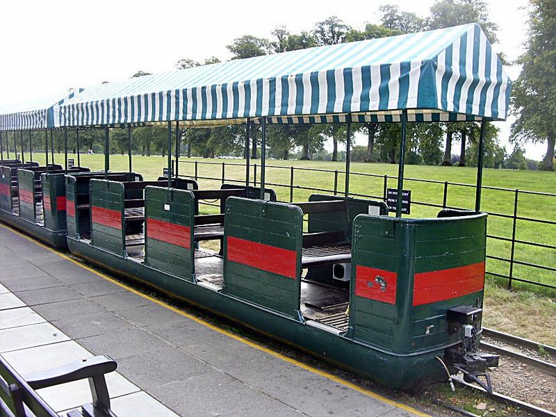 Bogie Third 4 Comp Blenheim Palace Railway