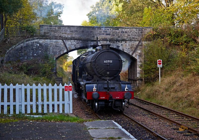 'Morayshire' at Birkhill Station - 18 October 2014
