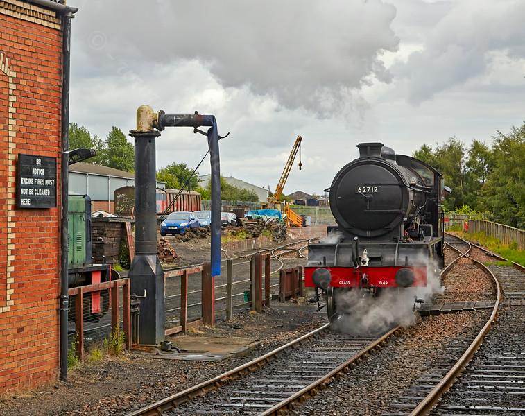 'Morayshire' at Bo'ness Station - 28 June 2014