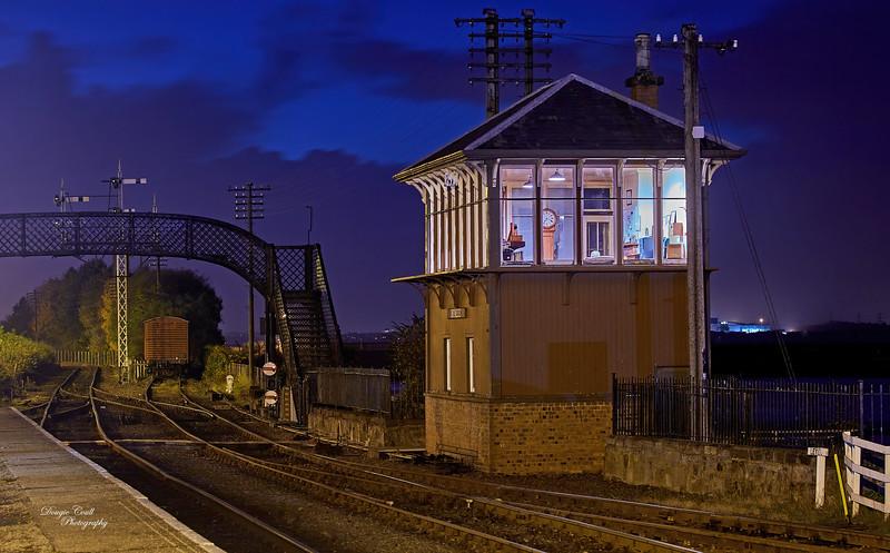 Bo'ness Station - 18 October 2014
